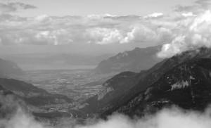 Fernblick zum Genfer See