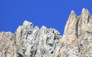 Beeindruckendes Klettergelände