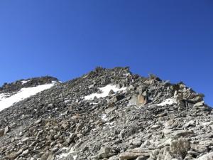 Aufstieg zur Pointe d'Orny