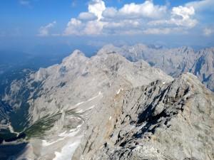 Blick zurück zur Alpspitze