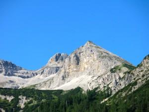 Bettlerkarspitze von der Gernalm aus