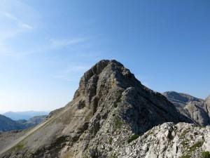Gipfelaufbau der Bettlerkarspitze