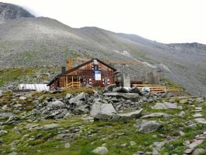 Baustelle an der Edelrauthütte