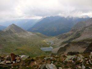 Am Gipfel geht der Blick Richtung Schafstall.