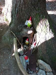 Lustige Gesellen im Wald