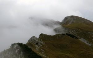 Wolkenstimmung am Kamm
