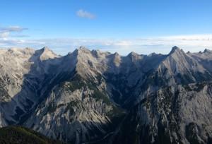 Karwendelprominenz im Panoramablick