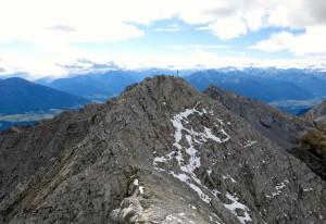 Am Gipfel der Kleinen Stempeljochspitze war etwas mehr los.