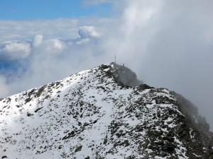 Kurz vor dem Gipfel des Lahnbachspitz