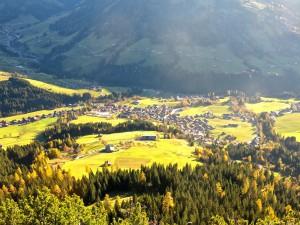 Auf dem Rückweg nach Alpbach