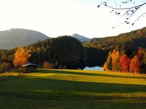Der idyllische Hintersteiner See
