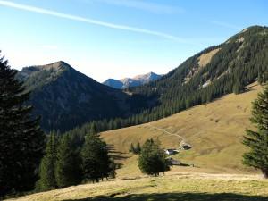 Abstieg zur Stepbergalm