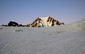 Cerro Yeguas Muertas im Morgenlicht