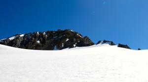 Nicht mehr weit bis zum Gipfelaufbau