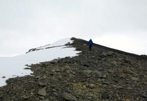 Fast geschafft - der letzte Anstieg zum Gipfel des Tupungato