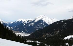 Blick Richtung Ehrwalder Becken und Daniel