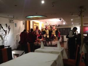 Tanzvorführung in Puno