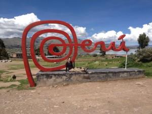 Wir verlassen Peru.