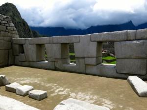 Die Tempel und andere öffentliche Gebäude wurden aus großen Blöcken gemauert.