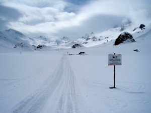 Grenzübertritt in die Schweiz