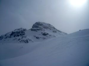 Der Gipfel der Breiten Krone