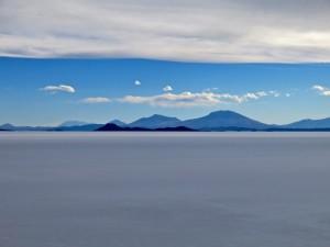 Weiter Blick von der Insel aus
