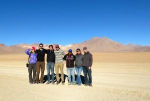 Gruppenbild mit Wüste
