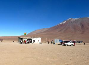 Diese bolivianische Grenzstation hat sich seit 2005 wenig verändert.