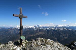 Geschafft - am Gipfel des Buchsteins