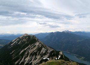 Blick zurück zur Seekarspitze