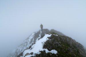 Am Gipfelgrat der Raffelspitze