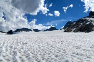 Auf dem Gletscher unterwegs