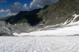 Am Ende der Gletscherzunge