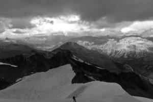 Bald haben wir auch den Abstieg von diesem Berg geschafft.