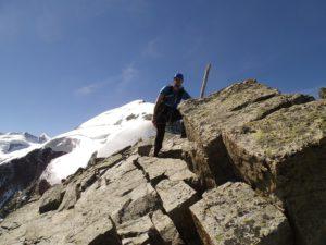 Am Gipfel des Piz Boval. Foto © Boris.