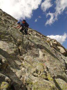 Beim Abstieg von der Fuorcla Boval… Foto © Boris.