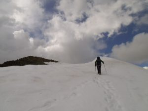 Fast am Gipfel. Foto © Boris.
