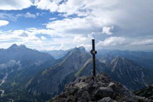 Der Steinfalk bietet einen schöne Aussicht.