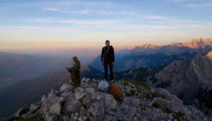 Am Gipfel des Zwölferkopfes