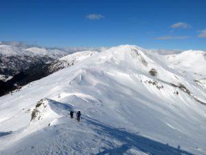 Eine herrliche Skiüberschreitung
