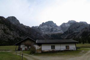 Rontalalm mit Torkopf, Östlicher Karwendel- und Vogelkarspitze