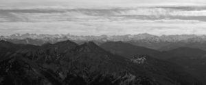 Immer wieder faszinierend: Freie Sicht auf die Hohen Tauern.