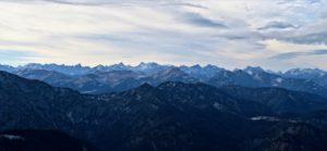 Wolkenbilder überm Karwendel