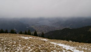Trübes Wetter überm Tegernsee