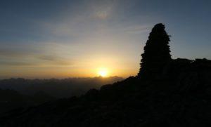 Sonnenaufgang auf dem Wassertalkogel
