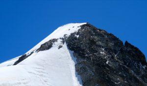 Bergsteiger am Piz Morteratsch