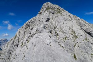 Auf dem Weg zum Gipfel des Risser Falk