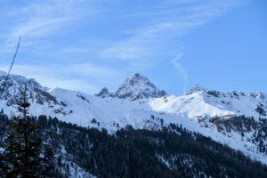 Auf der anderen Talseite zeigt sich der Große Dristkopf.