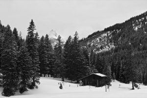 Verwunschene Hütte