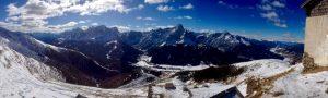 Noch einmal Dolomitenpanorama